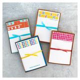 B & W Poppies Personalized Stationery