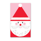 Happy Santa Enclosure Cards