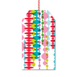 Colorful Garlands Gift Tags