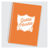 Gotta Hustle Journal by Rock Scissor Paper