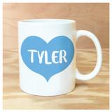 Big Heart Personalized Mug