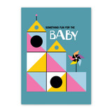 Playhouse Baby Card