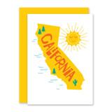 California Note Card