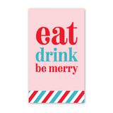 Eat Drink Mini Cards - Pack of 4