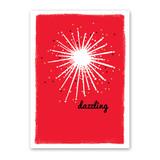 Dazzling Star Holiday Card