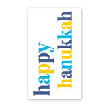 Hanukkah Serif Mini Cards - Pack of 4