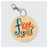 Free Spirit Keychain