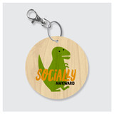 Socially Awkward Keychain