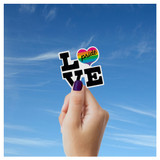 Love + Pride Sticker