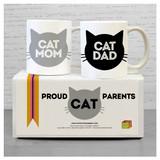 Cat Parents Mug Set