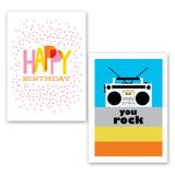 Birthday 10 card set
