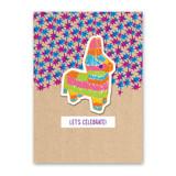 Piñata Sticker Card