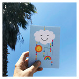 Happy Baby Mobile Card