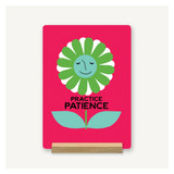 Patience Flower Desk Decor