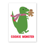 Cookie Monster Holiday Card