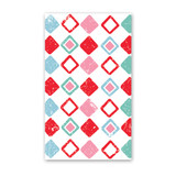 Harlequin Pattern Mini Cards - Pack of 4
