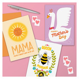 Swan Mother's Day Card