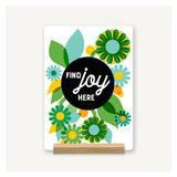 Find Joy Here Desk Decor