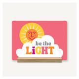 Be the Light Desk Decor