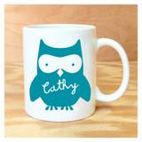 Personalized Owl Mug