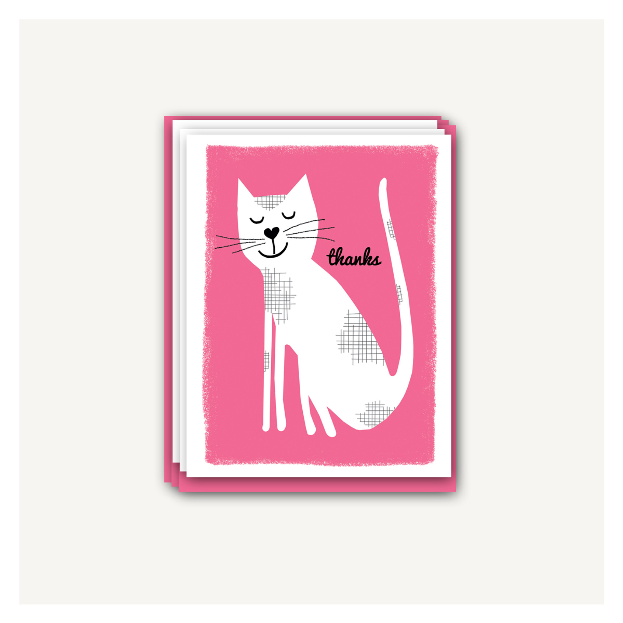 Kitten Thank You Cards