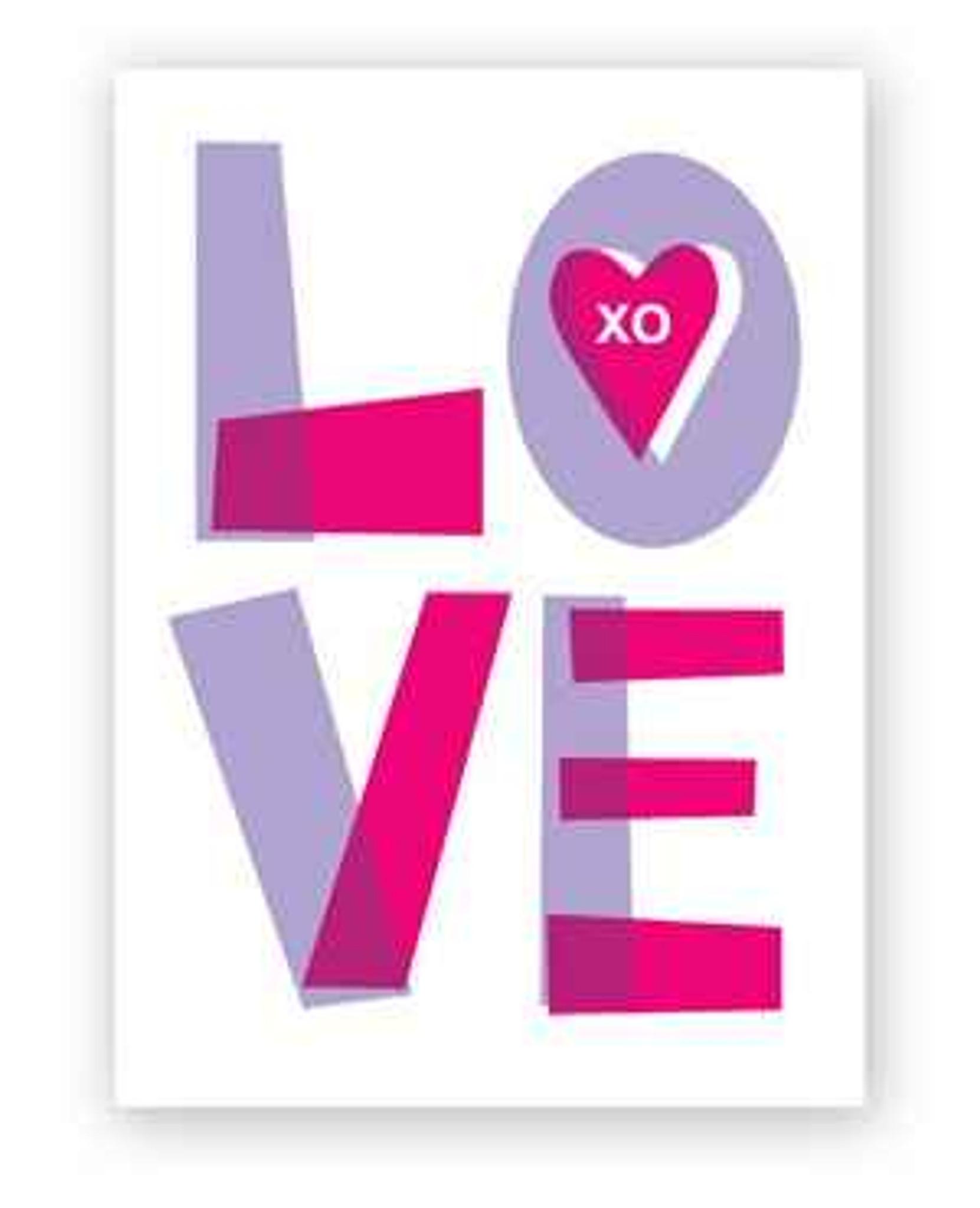 Big Love XO Valentines Day Card