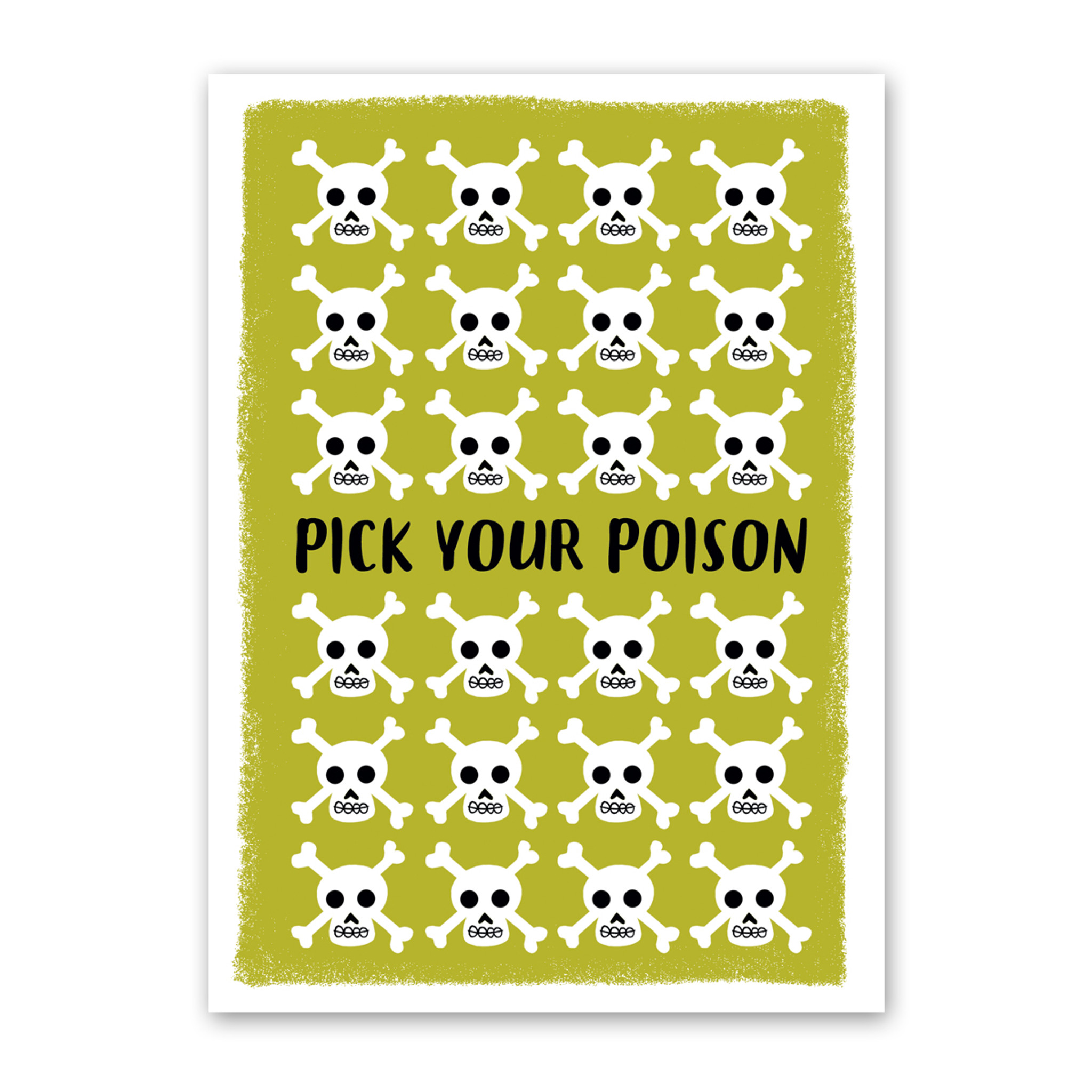 Pick Your Poison Halloween Card by Rock Scissor Paper