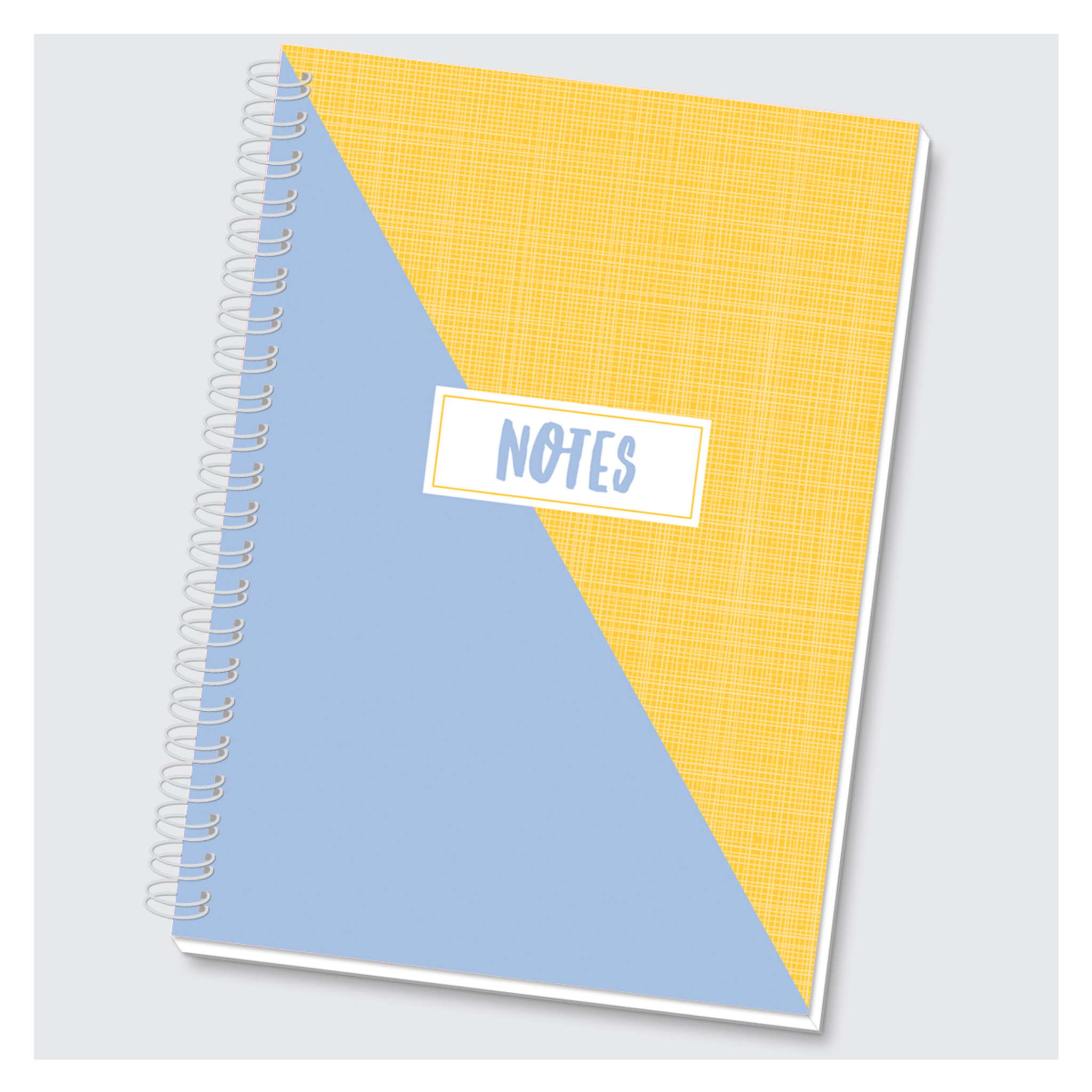 Color Block Journal - Blue