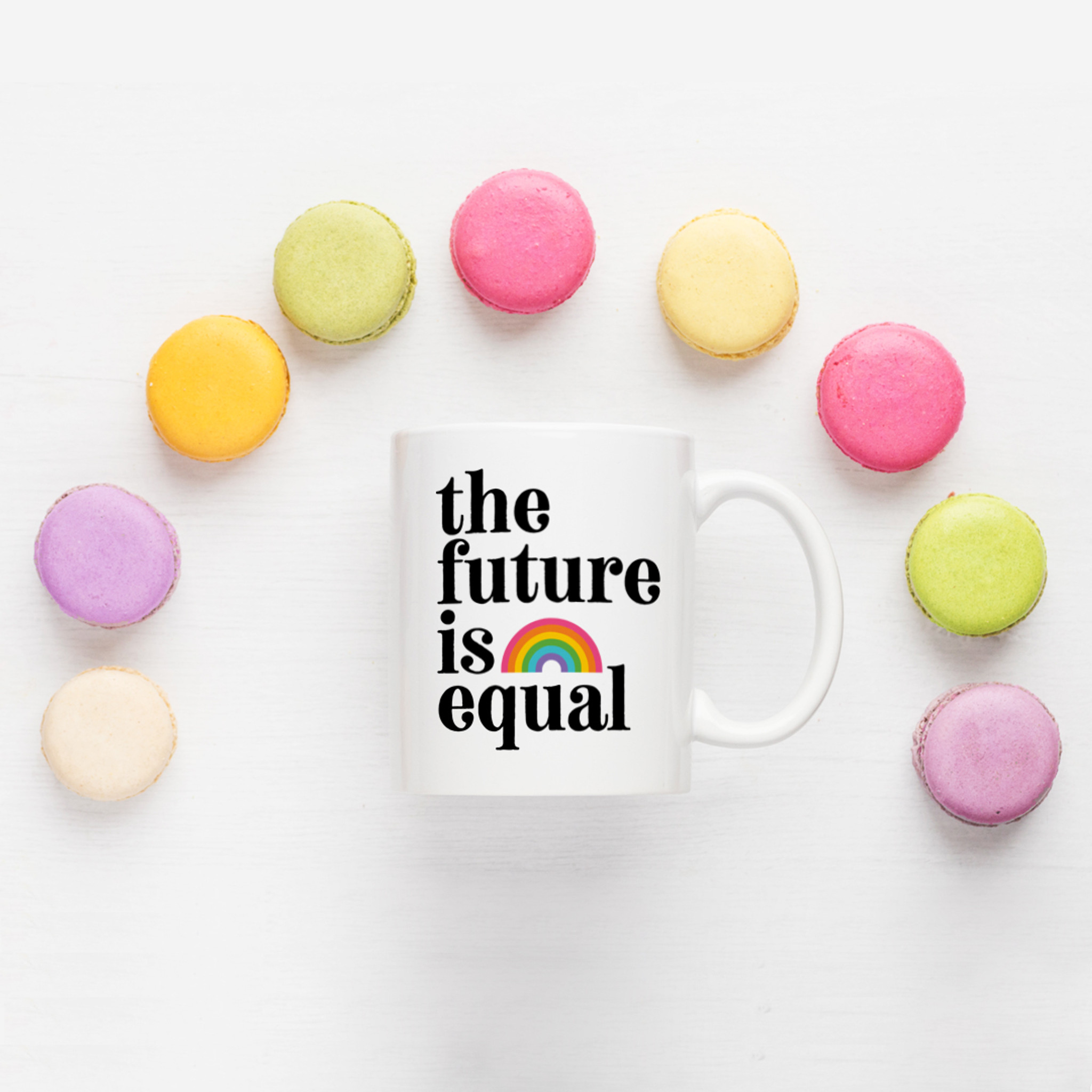 The Future is Equal Mug