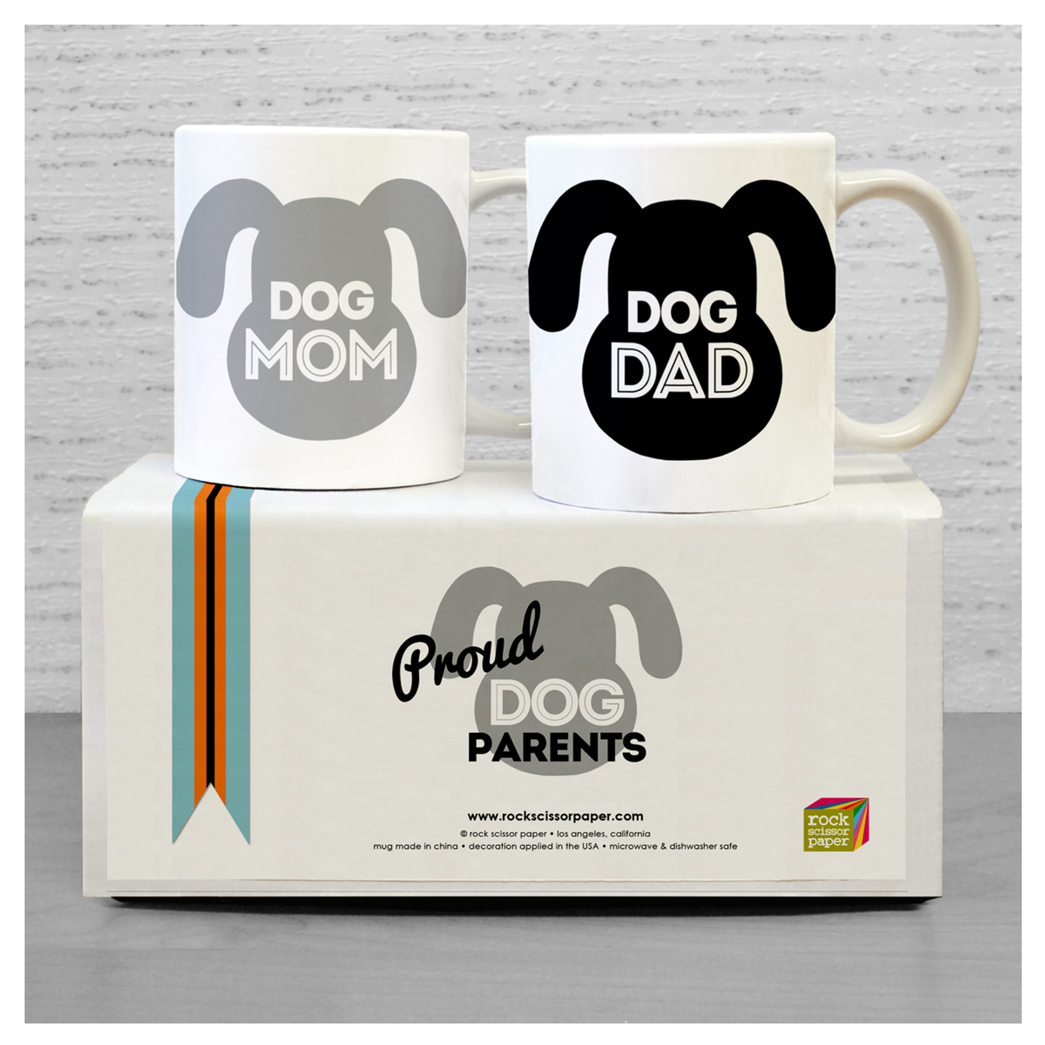Dog Parents Mug Set