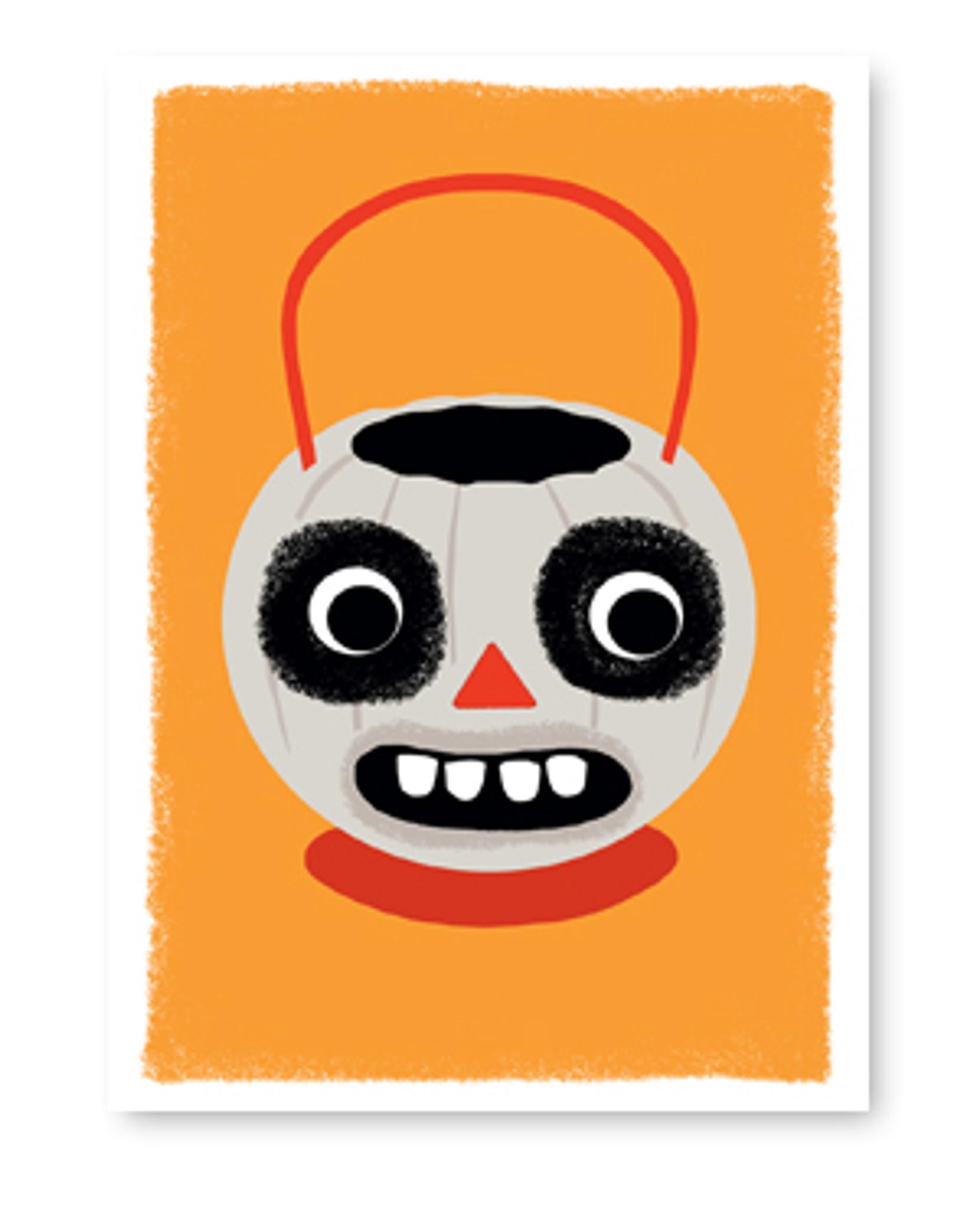 Halloween Ghoul card
