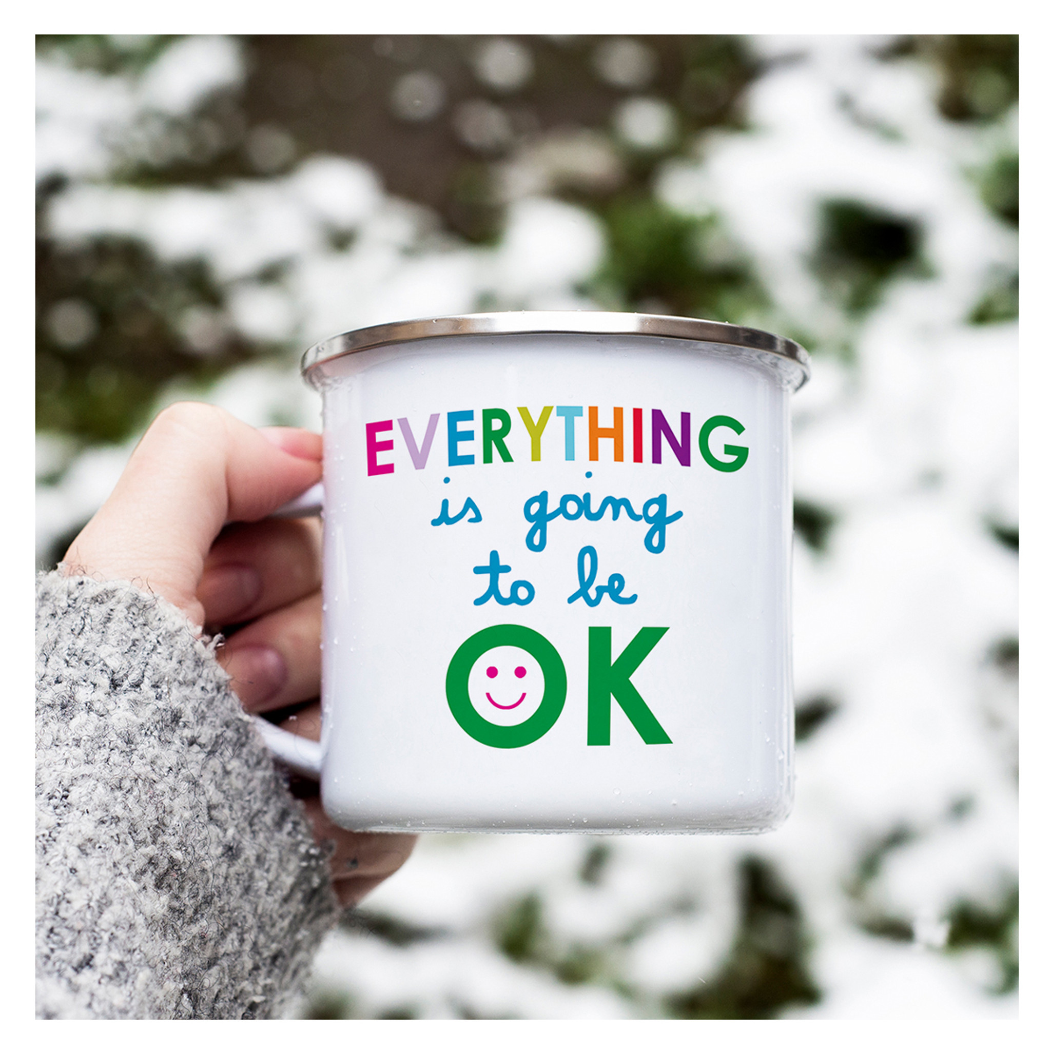 Everything OK Camp Mug