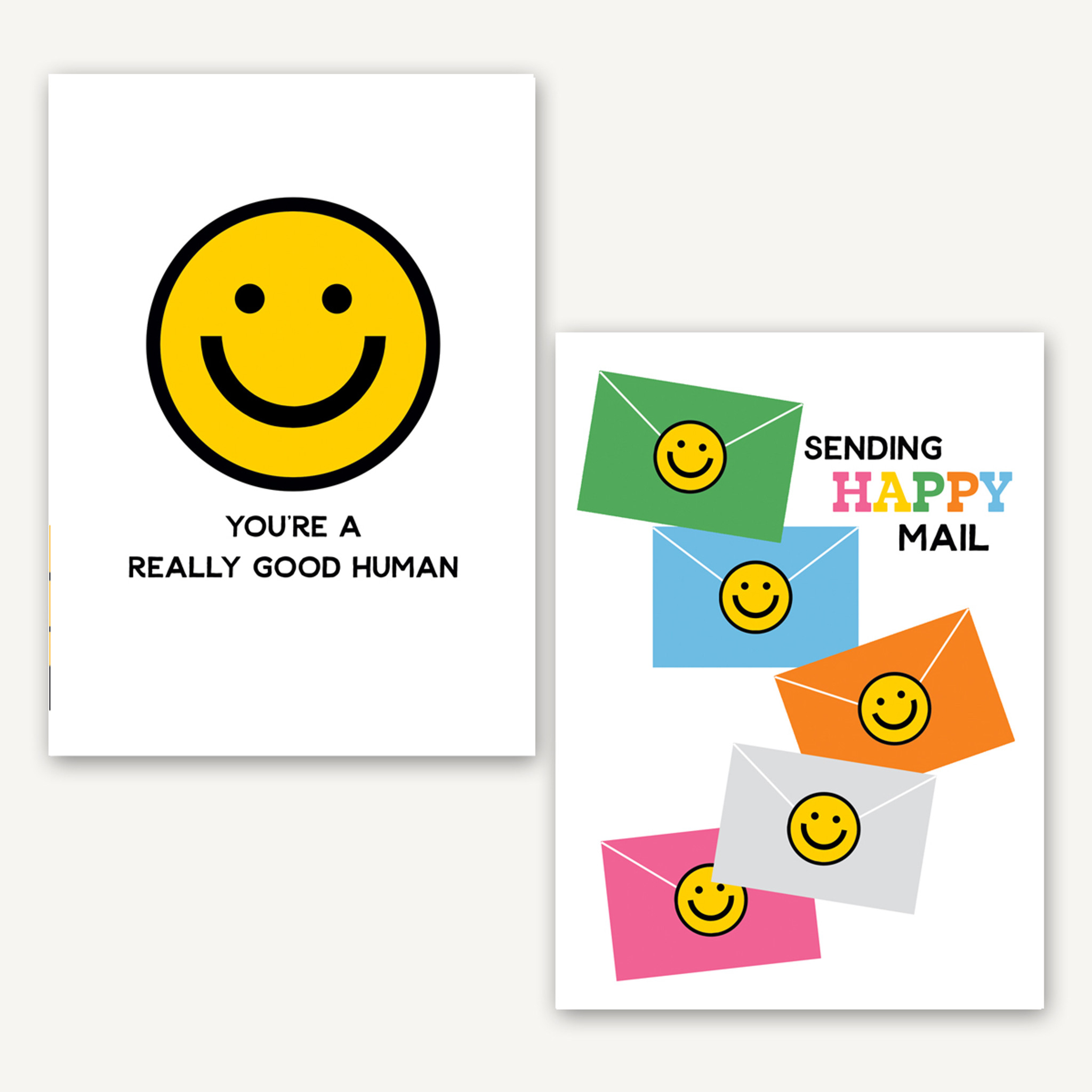 Stay Positive 10 card set