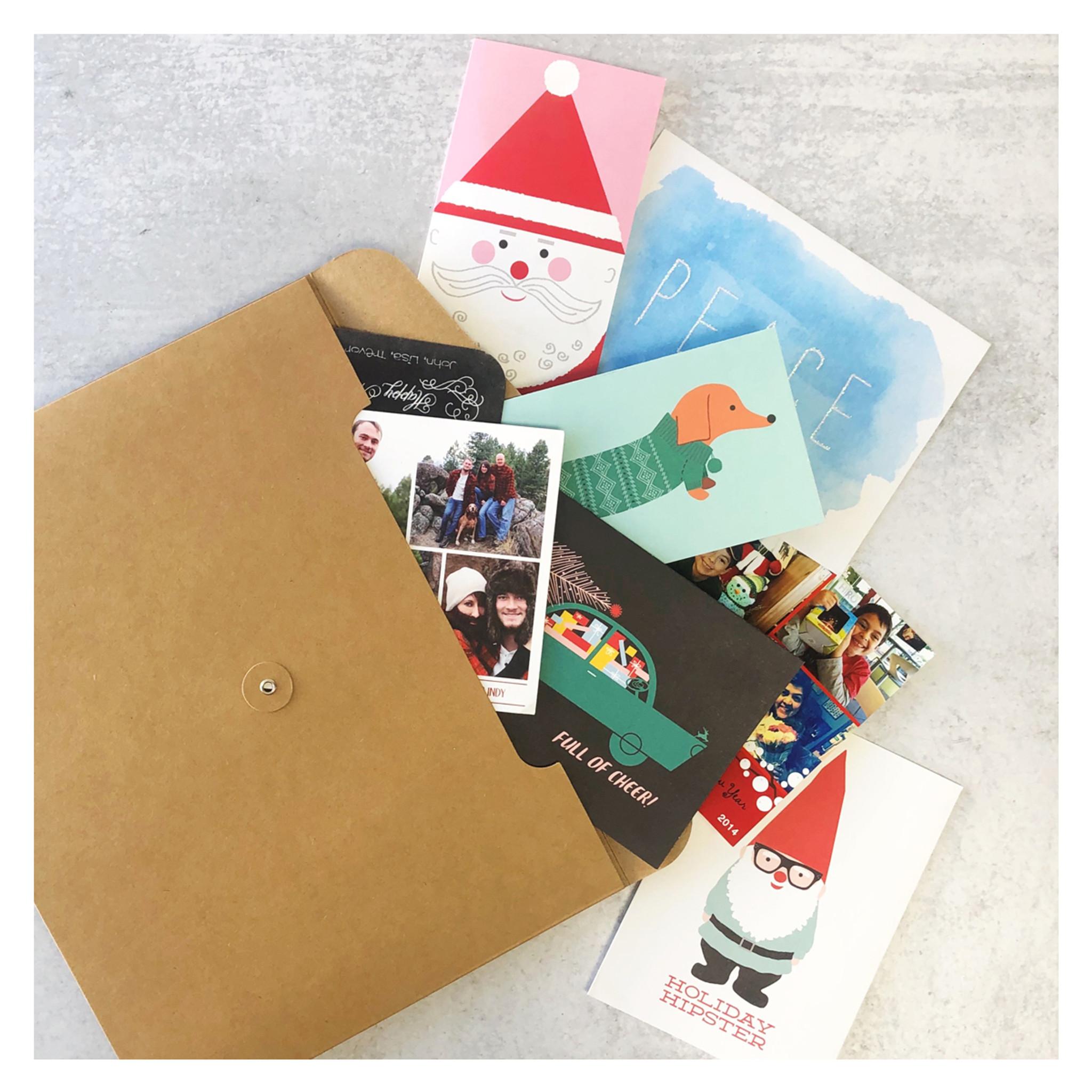 Card Archive Envelope - A-Frame Forest