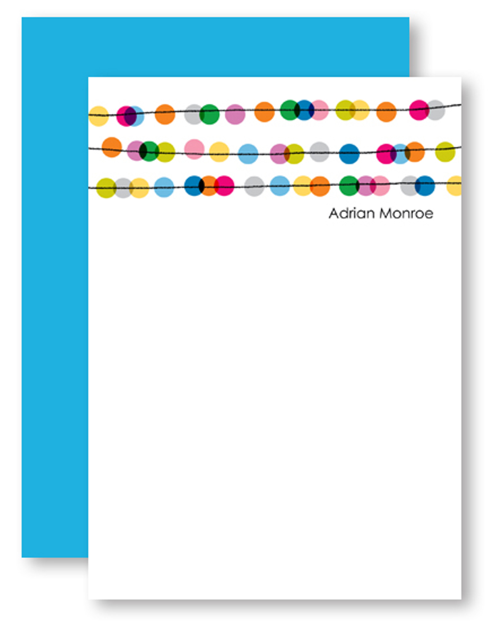 Abacus Dots Personalized Stationery