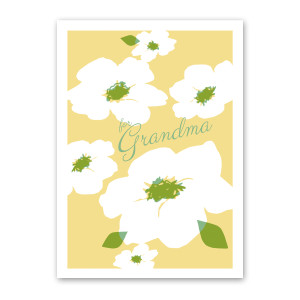 Magnolias for Grandma - Mother's Day Card by Rock Scissor Paper
