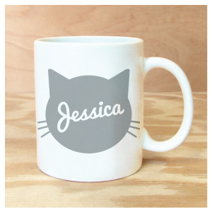 Cat Personalized Mug