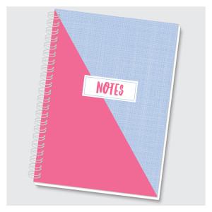 Color Block Journal - Pink