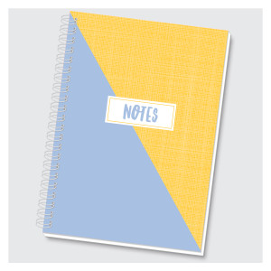 Color Block Journal - Blue