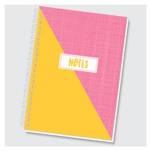 Color Block Journal - Yellow