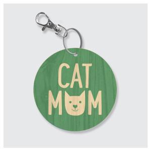 Cat Mom Keychain