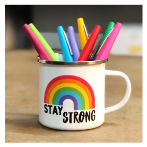 Stay Strong Rainbow Camp Cup