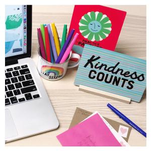 Kindness Counts Desk Decor