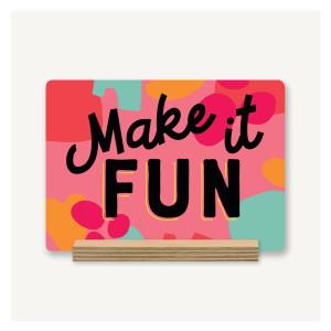 Make it Fun Desk Decor