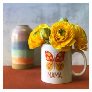 Mama Butterfly Mug