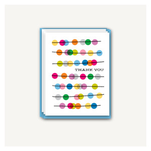 Abacus Thank You Cards