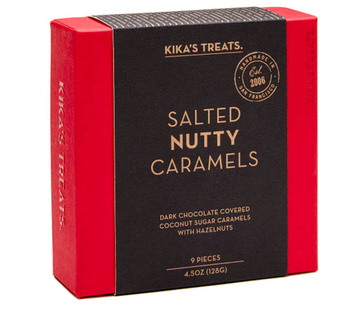 Ticket Salted Nutty Caramels, 9-Piece