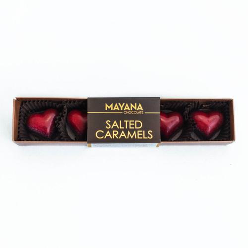 Mayana Salted Caramel Valentine Hearts