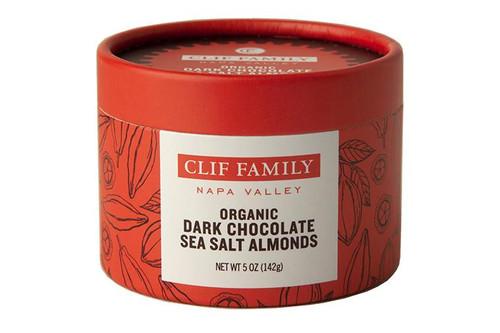 Clif Family dark chocolate almonds
