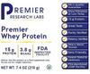 Premier Whey Protein, 7.4 oz